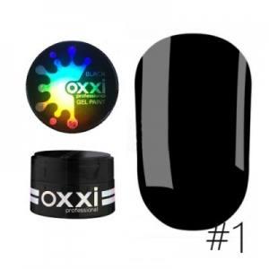 Гель-паста OXXI №1 черная