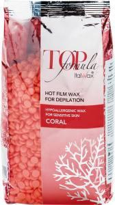 Воск в гранулах ItalWax горячий коралл 750г