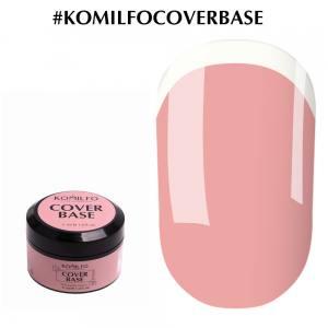 Komilfo Cover Base (by Nika Zemlyanikina) камуфлирующая база-корректор для гель-лака без кисточки, 5 мл