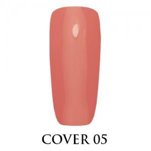 Камуфлирующая каучуковая база Adore №05 Cover Base,  розовый  7.5 мл