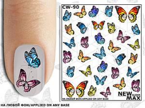 Слайдер-дизайн для  ногтей New Max CW-90