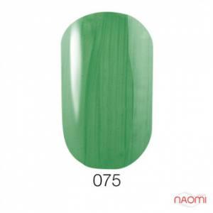 Гель-лак GO 075 5.8 мл  зеленый, перламутровый.