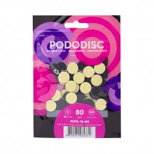 Сменные файлы для педикюрного диска на мягкой основе STALEKS PRO PODODISC S 15мм 50 шт