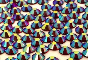 Стразы цветные хамелеоны Dark Siam AB