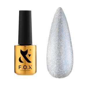 Гель-лак FOX для ногтей Deja Vu Cat Eye №002, Голубой, 7мл