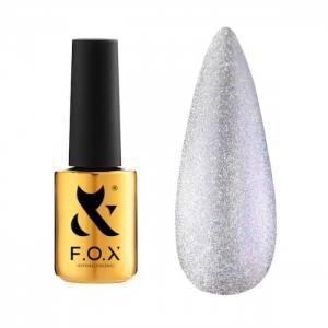 Гель-лак FOX для ногтей Deja Vu Cat Eye №003, Светло-розовый, 7мл