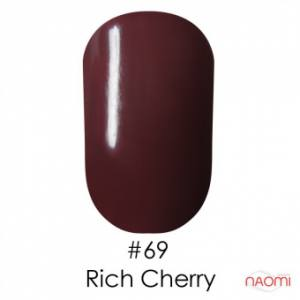 Гель-лак Naomi Gel Polish 69 - Rich Cherry, 6 мл
