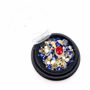 Декор для ногтей Global Fashion (ракушки, кристаллы, стразы) №2
