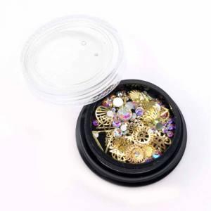 Декор для ногтей Global Fashion (ракушки, кристаллы, стразы) №3