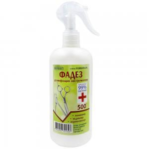 Жидкость для дезинфекции инструментов и поверхностей Фадез 500мл спрей