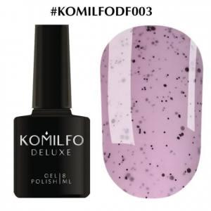 Гель-лак Komilfo Dragon Fruit DF003 (нежно-розовый с вкраплениями), 8 мл