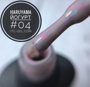 Гель-лак Haruyama Йогурт 04