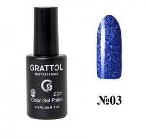 Гель-лак Grattol Luxury Stones Diamond 03