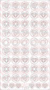 Трафарет для deep дизайна №153