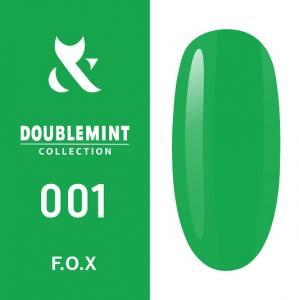 Гель-лак F.O.X DOUBLEMINT №001 (сочный зеленый, эмаль), 5 мл