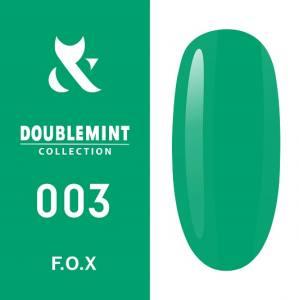 Гель-лак F.O.X DOUBLEMINT №003 (эвкалипт, эмаль), 5 мл