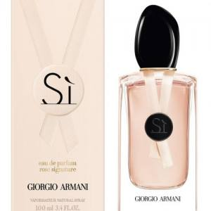 Женская парфюмированная вода Giorgio Armani Si Rose Signature 100 ml