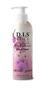 Увлажняющий крем для рук, с ароматом гардении и орхидеи DIS nails 250мл