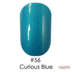 Гель-лак Naomi Gel Polish 56 - Curious Blue, 6 мл