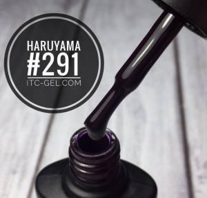 Гель-лак Haruyama Классика №291, чернильно-фиолетовый, 8 мл