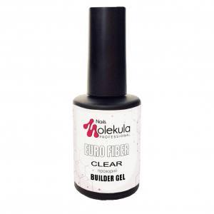 Гель моделирующий для ногтей  Molekula Euro fiber gel Gel Clear (прозрачный) 12мл
