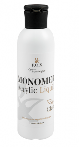 Мономер для акрила F.O.X Monomer Acrylic Liquid 200мл