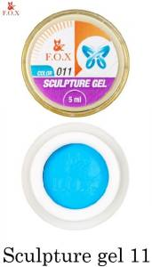 Гель-пластилин F.O.X Sculpture gel №11