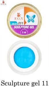 Гель-пластилин F.O.X Sculpture gel №11