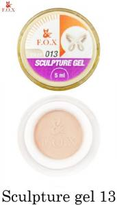 Гель-пластилин F.O.X Sculpture gel №13