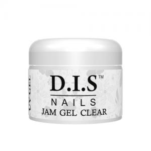 Прозрачный однофазный густой гель желе DIS Jam gel clear 30г