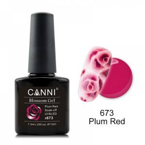 Акварельный гель-лак пурпурный CANNI №673
