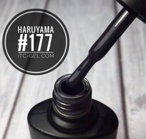 Гель-лак Haruyama Классика №177,тёмно-черничный, 8 мл