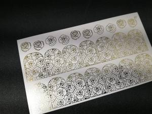Слайдер фольгированный 87 золото