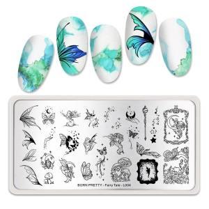 Пластина для стемпинга Born Pretty Fairy Tale L004