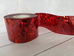 Фольга для литья Красная 1м № 198