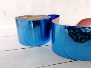 Фольга для литья Синяя 1м № 209