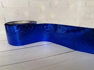 Фольга для литья Синяя 1м № 210
