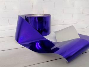 Фольга для литья Синяя 1м № 214