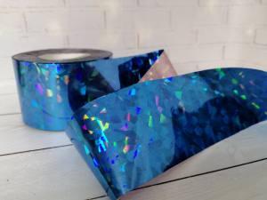 Фольга для литья Синяя 1м № 215