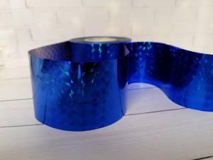Фольга для литья Синяя 1м № 217