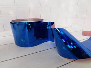 Фольга для литья Синяя 1м № 222