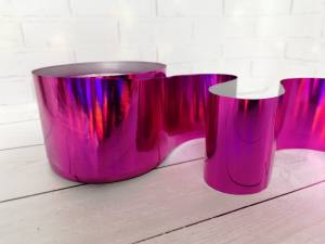 Фольга для литья Розовая 1м № 224