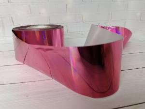 Фольга для литья Розовая 1м № 227