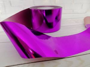Фольга для литья Розовая 1м № 230