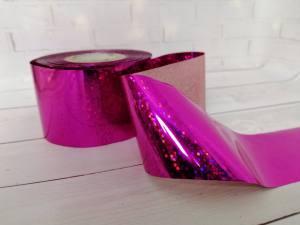 Фольга для литья Розовая 1м № 233