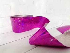 Фольга для литья Розовая 1м № 237