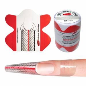 Формы для моделирования прозрачные (PVC-пластик) / Clear-Pro Nail Forms PNB