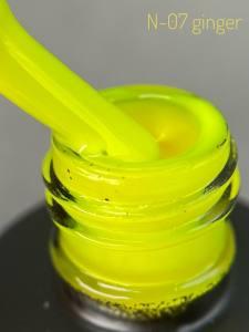 Неоновый гель-лак Adore Professional  7,5мл N-07  желто-салатовый