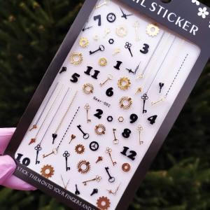 Наклейка для дизайна ногтей Nail Sticker Gear2