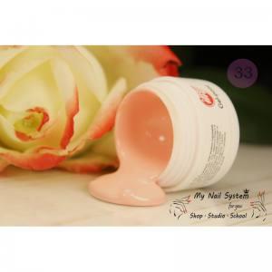Гель-краска для ногтей My Nail №33 нежно розовый